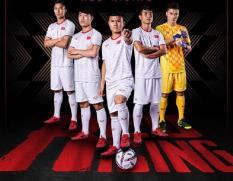 Bộ quần áo bóng đá đồ đá banh VIỆT NAM 2019 -2020 ĐỎ & TRẮNG mới nhất