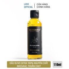 Dầu oliu (olive) Extra nguyên chất herbario 110ml