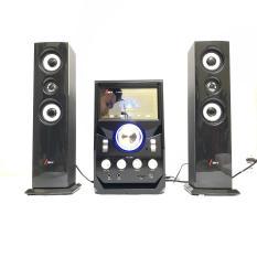 Dàn âm thanh giải trí đỉnh cao tại nhà – loa vi tính lớn hát karaoke âm thanh đỉnh cao có kết nối Bluetooth USB Isky – SK328 (Tặng kèm Micro hát)