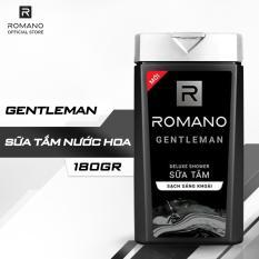 Sữa Tắm Hương Nước Hoa Romano Gentleman 180g