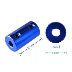 Đầu nối – Khớp nối trục động cơ 5mm – 5mm (1 cái)