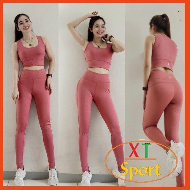 Bộ tập Gym nữ, đồ tập Yoga kín lưng chất đẹp BGM32