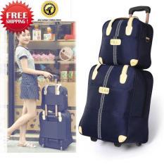 Bộ vali túi du lịch HERO kiểu dáng Hàn Quốc ( Xanh navy )