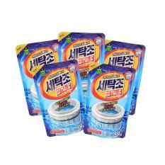 Combo 4 gói bột tẩy lồng máy giặt cao cấp siêu sạch Hàn Quốc 450gram