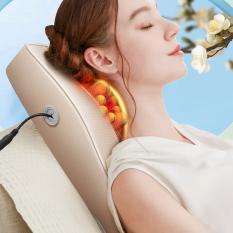 Gối massage vai gáy toàn thân đa năng YQ-6 cao cấp massage bằng 8 bi linh hoạt nhiều chế độ phù hợp cho nhiều vị trí trên cơ thể