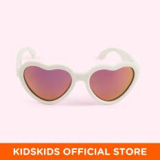 Kính chống tia cực tím có tròng kính phân cực cho bé Babiators – The Sweetheart, tráng gương hồng, 3-5 tuổi
