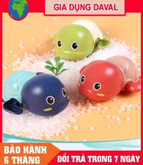 COMBO 3 Rùa Bơi đồ chơi vặn cót biết bơi trong nước iêu dễ thương, dùng cho bé chơi trong nhà tắm, bể bơi mini kích thích bé cưng đi tắm an toàn cho trẻ em R01