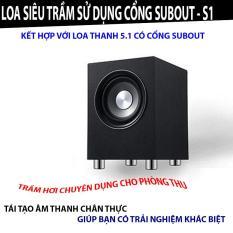 Loa Sub Siêu trầm sử dụng cổng Subout – SUB Siêu Trầm S1
