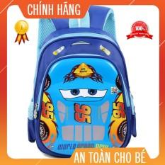 Balo Cho Bé [⚡FREESHIP⚡ TẶNG MÃ GIẢM GIÁ 20K] Balo Cho Bé Hình Ô Tô Chống Gù Siêu Nhẹ Cho Trẻ 3-7 Tuổi