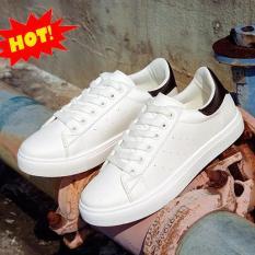 Giày sneaker nam trắng mới nhất AH171 (Giá Hủy Diệt)
