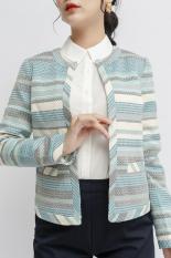 Áo Blazer kẻ xanh Zenic
