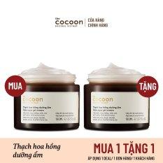 [MUA 1 TẶNG 1] Bigsize – Thạch hoa hồng dưỡng ẩm (kem dưỡng ẩm) Cocoon cấp ẩm & nuôi dưỡng 100ml