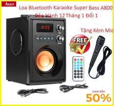 Loa Bluetooth Karaoke Super Bass RS- A800, Bộ Xử Lí Âm Thanh Hiện Đại , Âm Thanh Trầm Ấm,Công Nghệ Bluetooth 4.1 Kết Nối Ổn Định 10M . Phân Phối & Bảo Hàn tại Future Box.