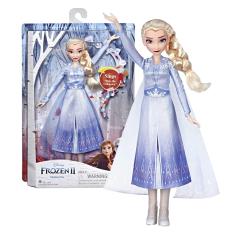 Đồ chơi Hasbro búp bê công chúa Elsa và bộ phụ kiện làm tóc Frozen 2 E7002