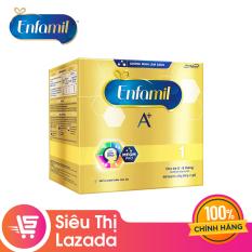 [Siêu thị Lazada] Sữa bột Enfamil 1 cho trẻ 0-6 tháng tuổi (2.2kg – hộp 4 túi thiếc 550g)