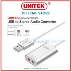 [UNITEK STORE] CÁP CHUYỂN USB 2.0 SANG SOUND UNITEK (Y-247A)