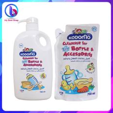 Nước rửa bình sữa Kodomo – 700ml, 750ml – Thương hiệu Thái Lan