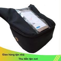 Túi treo đầu xe máy đứng chuyên dụng Sunha xem bản đồ dành cho xe ôm công nghệ phiên bản mới, để điện thoại đứng dễ xem, vải bố xem điện bản đồ đứng TOPHA TP 9039
