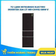 Tủ lạnh Mitsubishi Electric Inverter 326 lít MR-CX41EJ-BRW-V