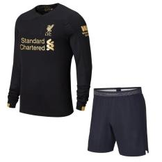[HÀNG SIÊU HOT] Áo bóng đá clb Liverpool Dài tay – Màu đen – mẫu mới – Mùa giải 2019/20 – Vải thun lạnh thấm hút mồ hôi