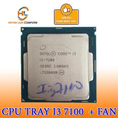 CPU Intel Core I3-7100 (TRAY) 3.9 GHz / 3MB / Socket 1151 + Kèm Fan