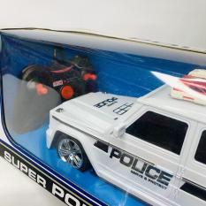 XE Ô TÔ ĐIỀU KHIỂN CẢNH SÁT SUPER POLICE D0139 – ĐỒ CHƠI TRÍ TUỆ