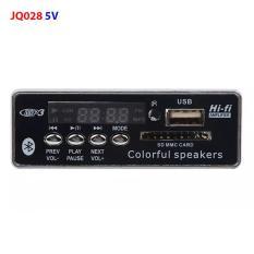 Module mạch MP3 Bluetooth v5.0 có màn hình hiển thị, remote