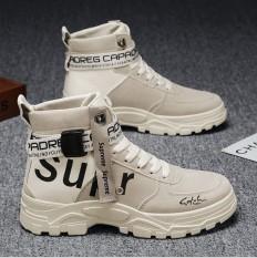Giày Nam Cao Cổ, Bốt Nam SUPER Khoá Cổ Sang Trọng, Sành Điệu Mới Nhất Năm 2020 JAGUAR – 375