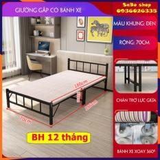 Giường gấp di động-Giường xếp gọn khung sắt sẵn đệm -giường-giường gấp kim loại-giường gấp gọn-giường khung sắt -giường đa năng-giường di động-giường cao cấp