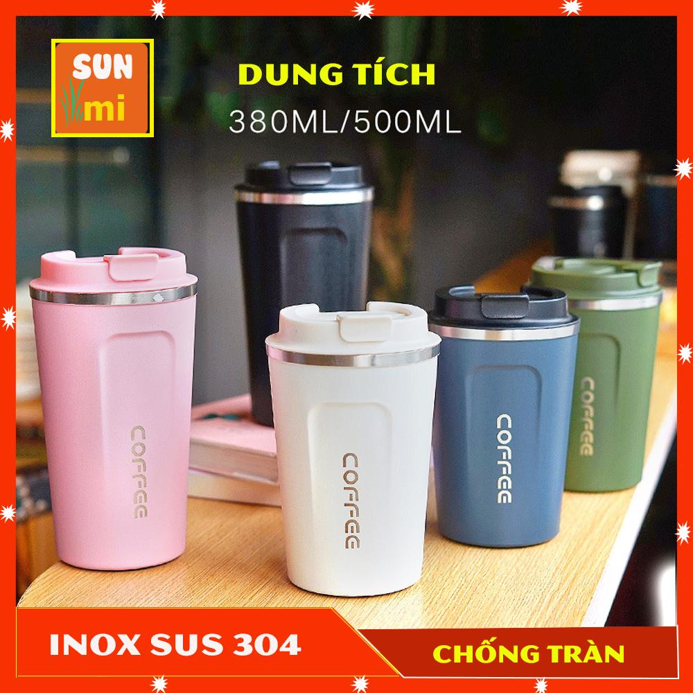 Ly Giữ Nhiệt Đựng Coffee – Cốc Giữ Nhiệt Inox 304 Cao Cấp Dung Tích 380ml Và 500ml Kiểu Dáng Trẻ Trung Năng Động
