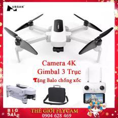 [TẶNG BALO CHỐNG XỐC ] Máy bay Flycam Hubsan Zino H117S Camera 4K, GPS 5.8G, Gimbal 3 Trục, FPV 1 KM, Thời gian bay lên đến 23 phút