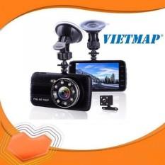 Camera Hành Trình X004 Full Hd 1080P Có Camera Lùi