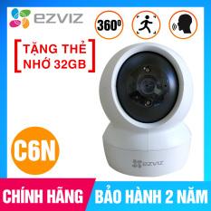 [TẶNG THẺ NHỚ 32GB] Camera EZVIZ C6N 1080P wifi Smart IR, theo dõi chuyển động ( CS-C6N-A0-1C2WFR)