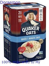[MẪU MỚI]Yến Mạch Mỹ Quaker Oats Quick 1 Minute Thùng 4.52kg