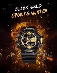 Đồng hồ thể thao nam chống nước phong cách thời trang Smael 146836 Gold Bảo hành 12 tháng