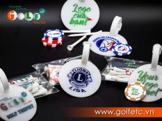 Combo 25 bag tag in logo theo yêu cầu cho người chơi Golf