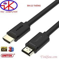 Cáp HDMI 15m Unitek YC143M Chuẩn 1.4 Độ Phân Giải 4K Và Hiển Thị 3D( Y-C143M)