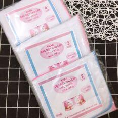 10 khăn xô sữa kipa 2,3,4 lớp siêu mềm, siêu thấm cho bé