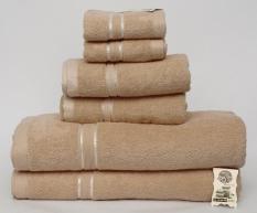 [ Quà Tặng ]Combo 6 Khăn Tắm cao cấp LuxStay, 2 khăn tắm lớn 70*140cm, 2 khăn tắm nhỏ 35*80cm, 2 khăn mặt 30*50cm, khăn dệt 100% bông tự nhiên