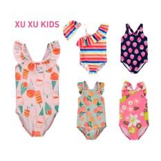 Đồ bơi cho bé, bộ bơi bé gái, bikini cho bé, bikini liền thân cho bé gái hàng xuất dư Xu Xu Kids size từ 3M đến 5 tuổi