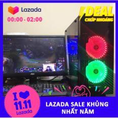 Bộ máy tính chơi game PUBG PC thiết lập Full HD cao cấp 22 inch (Trọn bộ, tặng bộ bàn phím + chuột LED giả cơ hoặc tặng Bộ loa mini + USB wifi)