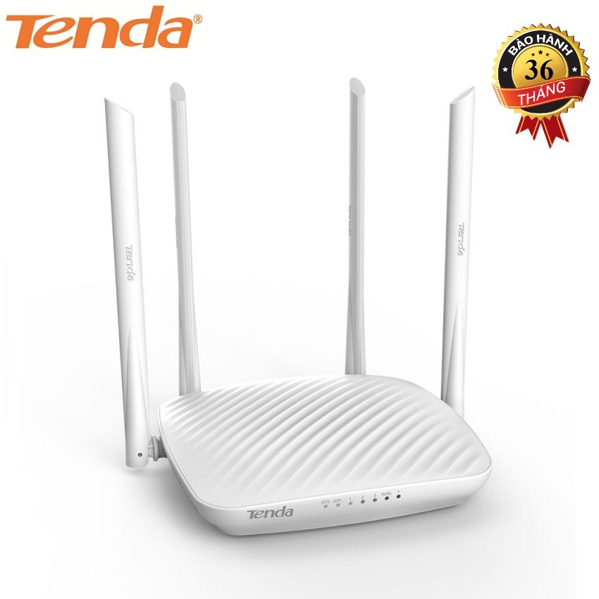 Thiết bị phát sóng WIFI Tốc độ 600Mbps TENDA F9 (Trắng) – Hãng Phân phối chính thức