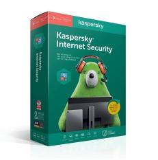 Phần mềm diệt virut Kaspersky Internet Security – 3 PC
