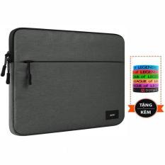 Túi chống sốc Laptop Macbook 15 inch cao cấp ANKI + Tặng vòng tay thể thao