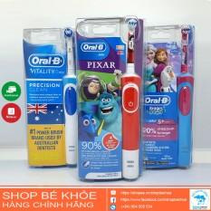 Bàn Chải Điện Oral B – Braun Cho Trẻ Em Và Người Lớn – Úc
