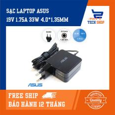 [FreeShip]Sạc laptop asus giá rẻ TechShop hình vuông công suất 19V 1.75A 33W 4.0*1.35mm dùng cho VivoBook X202E-CT3217 S200E-RHI3T73 S200E-CT157H S200E-CT158H S200E-0133K3217U S200E-0143KULV9