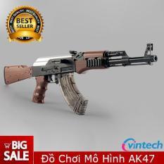 Đồ chơi mô hình AK47 tỉ lệ 11 kích thước chuẩn 60cm – Bắn liên thanh cực chất
