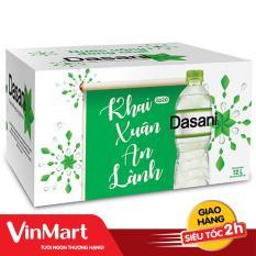 [Siêu thị VinMart] – Thùng 24 chai nước khoáng Dasani 500ml