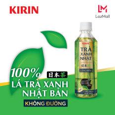 Thùng 24 chai Nước uống Trà Xanh Nhật KIRIN Không Đường 345ml- 100% lá trà xanh Nhật Bản