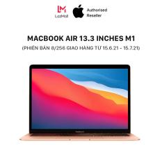 MacBook Air 13.3 inches M1 Chipset (8GB/16GB – 256GB/512GB) – HÀNG CHÍNH HÃNG